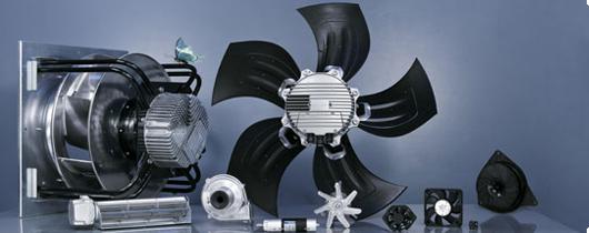 ventilador axial e ventilador centrifugo